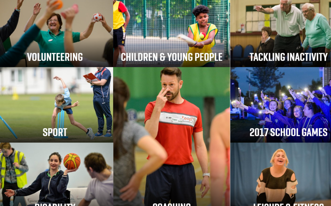 Access Sport England photo library
