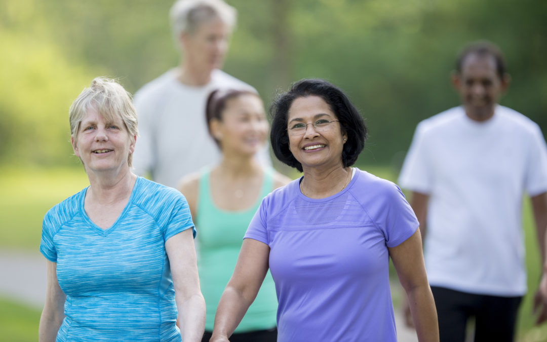 Walking, Cycling, Running, Golf, Walking Football – 463 people signed up to take part after seeing Facebook ads