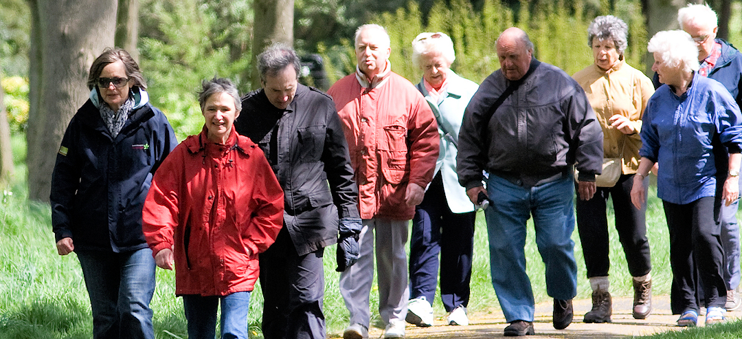 300 Redbridge residents with long term health conditions interested in health walks